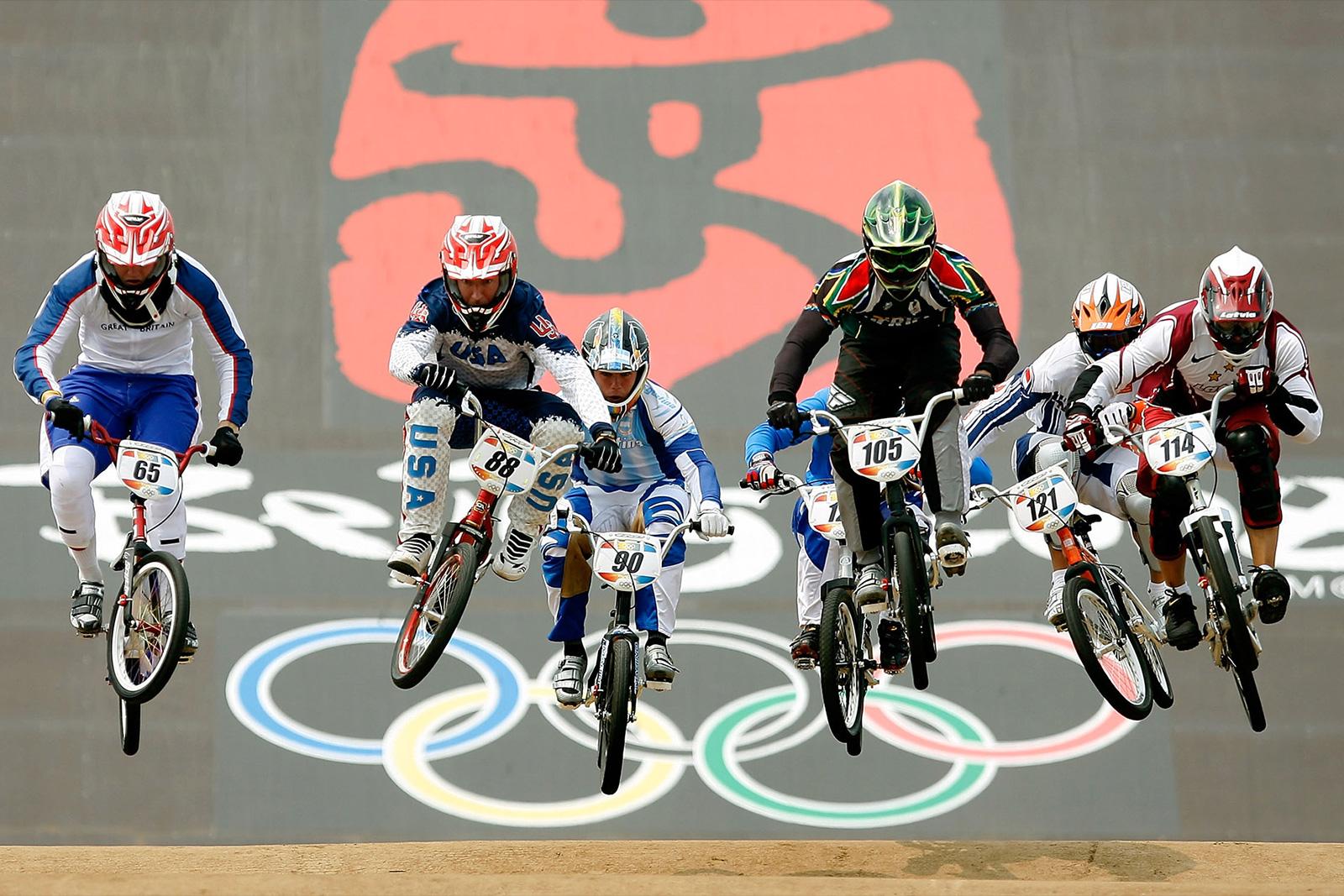 bmx olympique