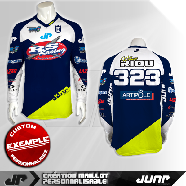personnalisation maillot denver remingol 518 jump industries