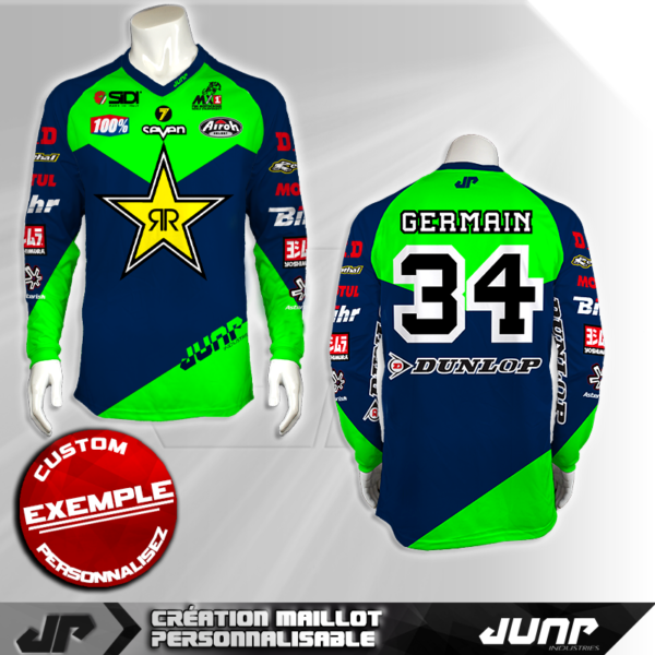personnalisation maillot germain 34