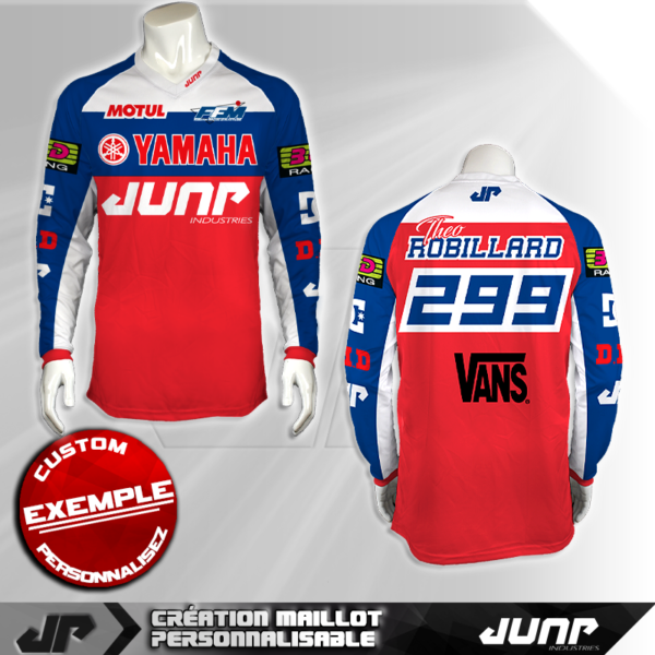 personnalisation maillot orlando r.more 14 jump industries