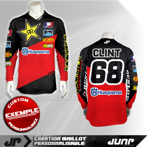 personnalisation maillot phoenix clint jump industries