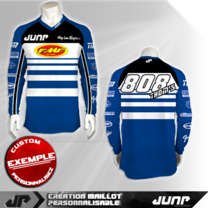 personnalisation maillot richmond jump industries
