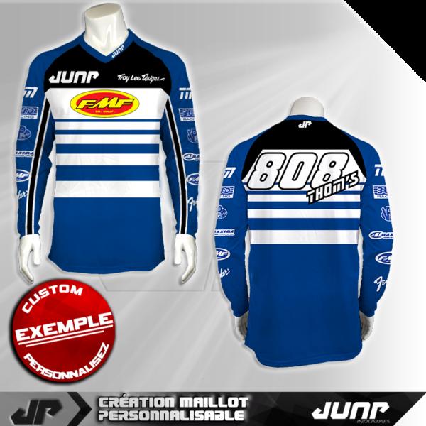 personnalisation maillot richmond jump industries