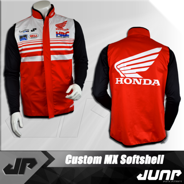 personnalisation veste softshell jump industries