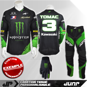 tenue personnalise custom mx outfit houston jump industries