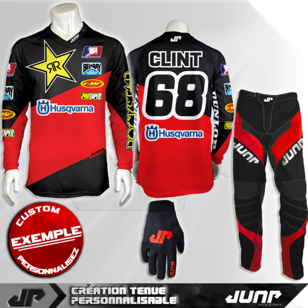 tenue personnalise custom mx outfit phoenix jump industries