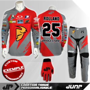 tenue personnalise custom mx outfit atlanta jump industries