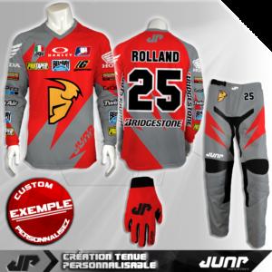 tenue personnalise custom mx outfit atlanta jump industries