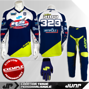 tenue personnalise custom mx outfit denver jump industries