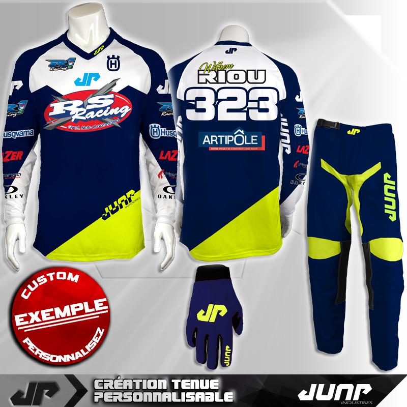 tenue personnalise custom mx outfit denver jump industries