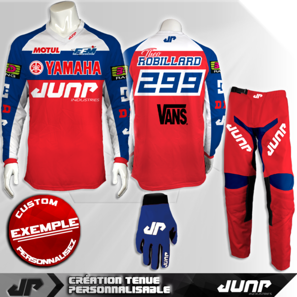 tenue personnalise custom mx outfit orlando jump industries