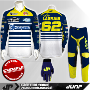 tenue personnalise custom mx outfit fresno jump industries