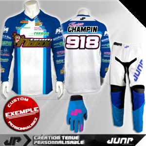 tenue personnalise custom mx outfit glendale jump industries