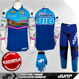 tenue personnalise custom mx outfit greensboro jump industries