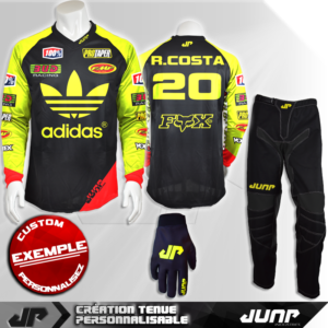 tenue personnalise custom mx outfit mesa jump industries