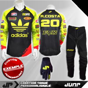 tenue personnalise custom mx outfit mesa jump industries