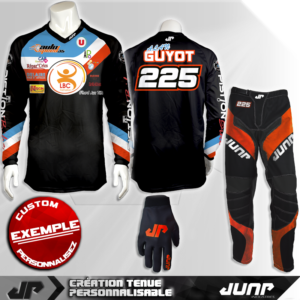 tenue personnalise custom mx outfit toledo jump industries