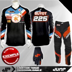 tenue personnalise custom mx outfit toledo jump industries