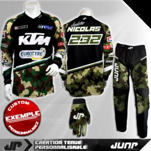 tenue personnalise custom mx outfit tucson jump industries