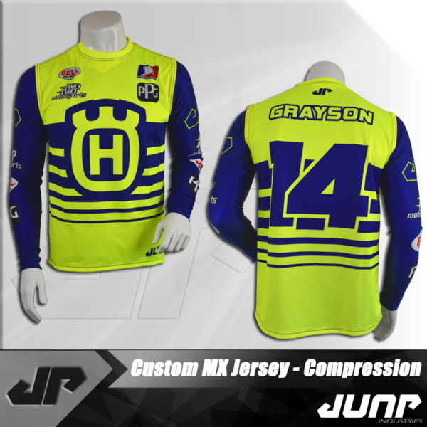maillot compression personnalise jump industries