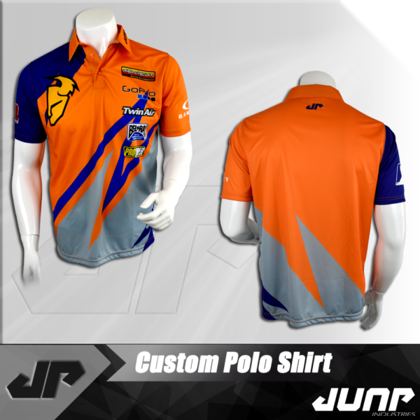 polo personnalise jump industries