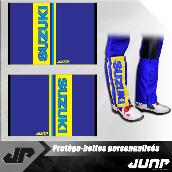 protege botte personnalise boot protection vintage jump industries
