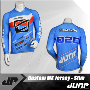 maillot slim compression personnalise jump industries