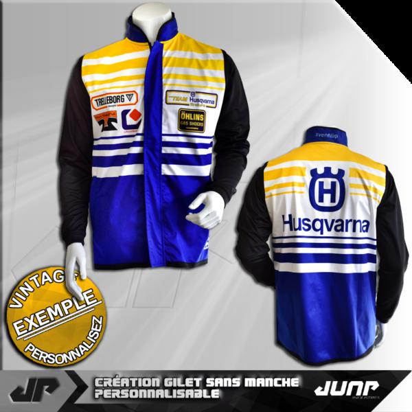 veste softshell personnalise vintage jump industries