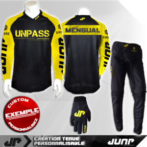 tenue bmx vtt mtb dh personnalise mengual jump industries