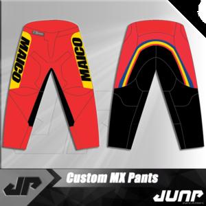 pantalon maico personnalise vintage pants jump industries