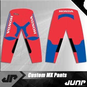 pantalon honda vintage personnalise jump industries