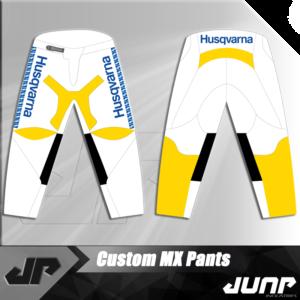 pantalon husqvarna vintage personnalise jump industries