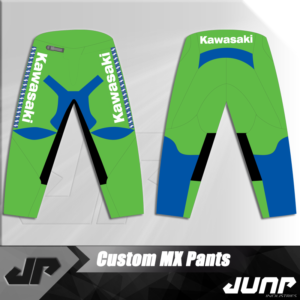 pantalon kawasaki vintage personnalise jump industries