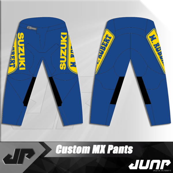 pantalon m robert vintage personnalise jump industries
