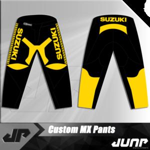 pantalon suzuki vintage personnalise jump industries