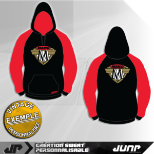 sweat capuche hoodie personnalise maico jump industries