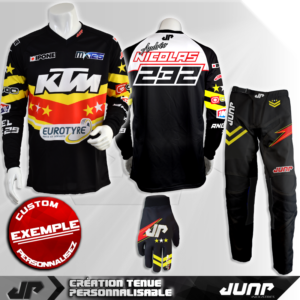 tenue personnalise custom mx outfit aurora jump industries