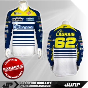 personnalisation maillot fresno jump industries