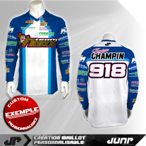 personnalisation maillot glendale jump industries