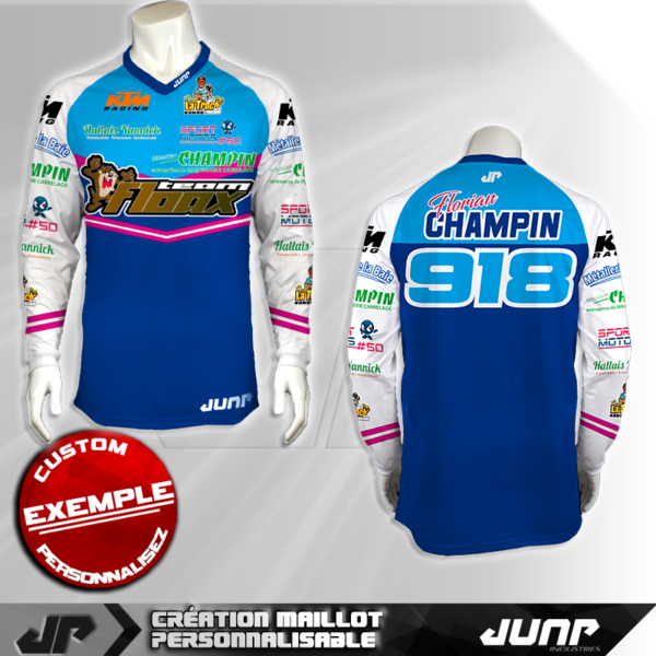 personnalisation maillot greensboro jump industries