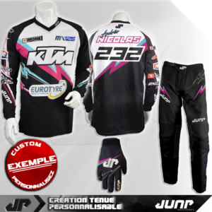 tenue personnalise custom mx outfit norfolk jump industries