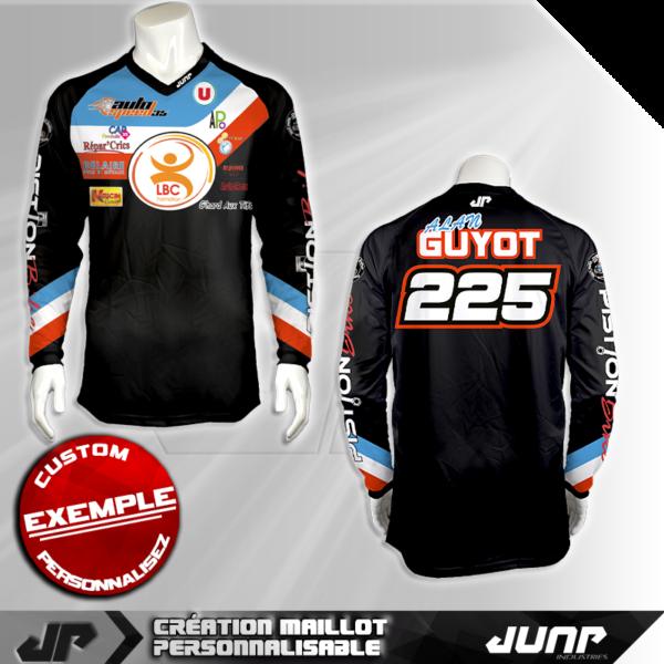 personnalisation maillot toledo jump industries
