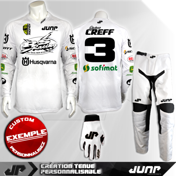 tenue personnalise custom mx outfit anchorage jump industries