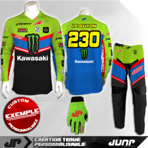 tenue personnalise custom mx outfit laredo jump industries
