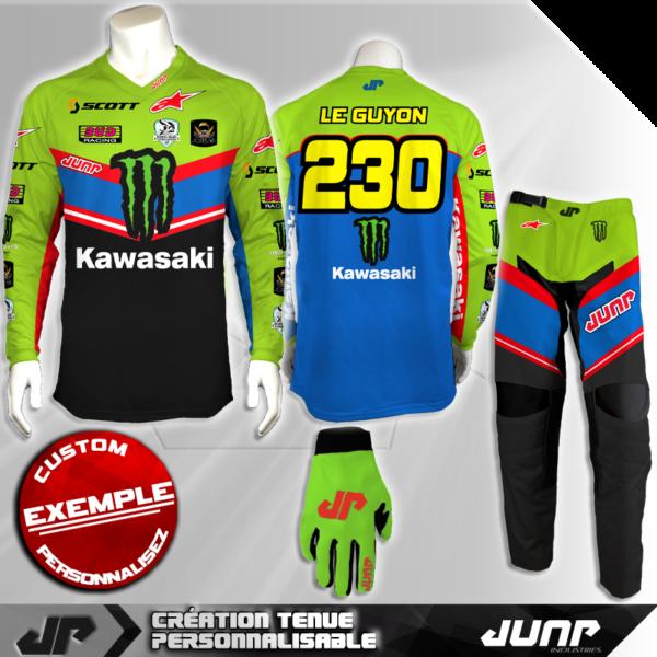 tenue personnalise custom mx outfit laredo jump industries