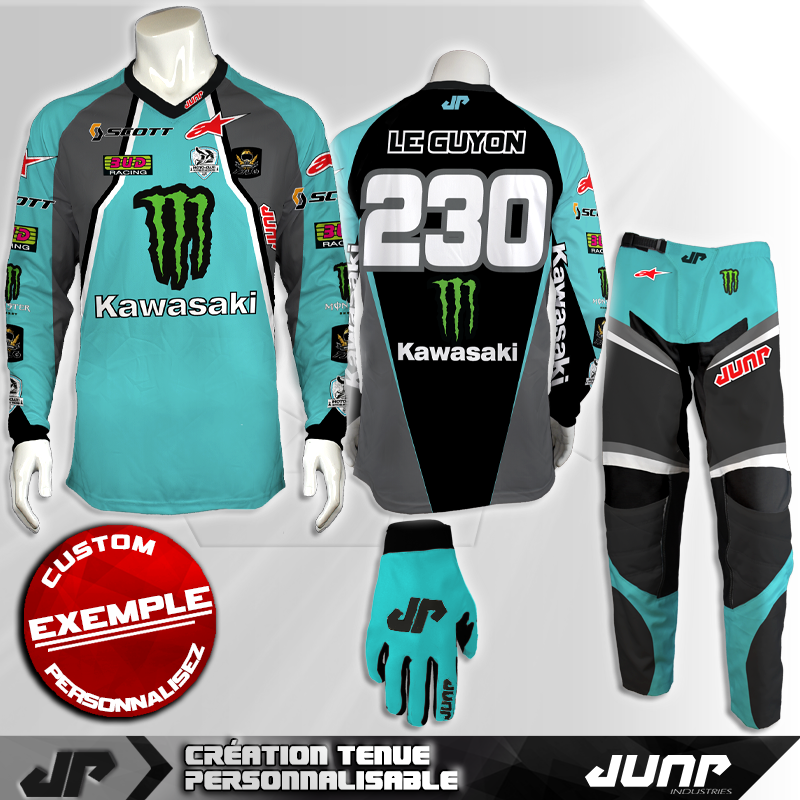 tenue personnalise custom mx outfit sitka jump industries
