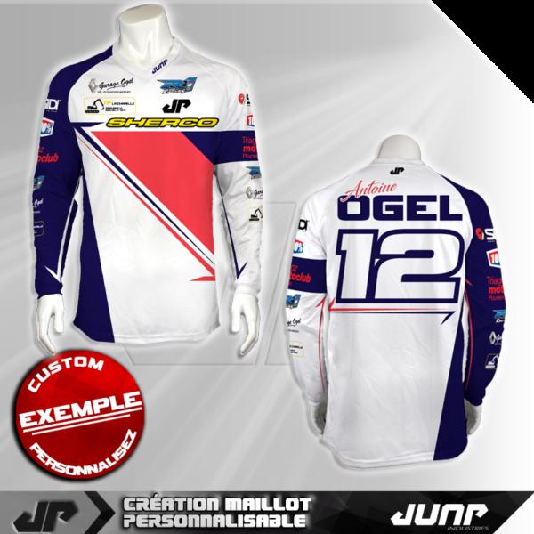 personnalisation maillot anaheim jump industries