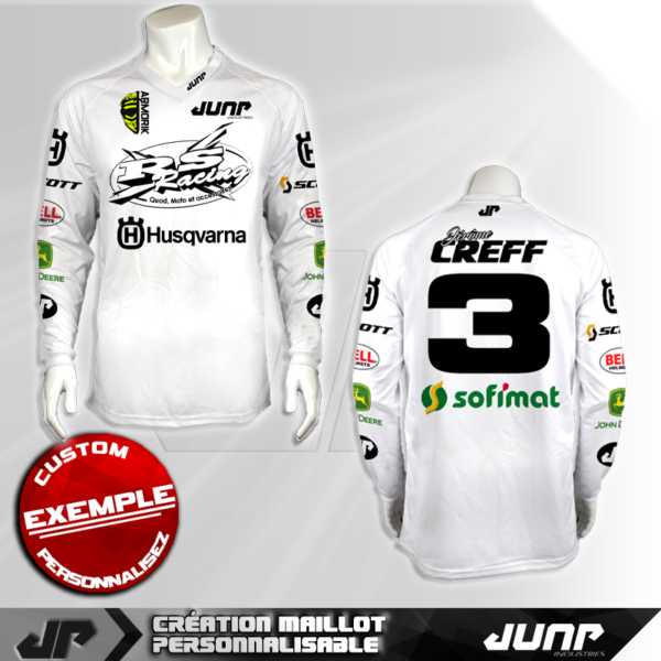 personnalisation maillot anchorage jump industries