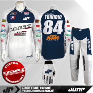 tenue personnalise custom mx outfit cleveland jump industries