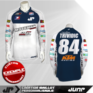 personnalisation maillot cleveland jump industries
